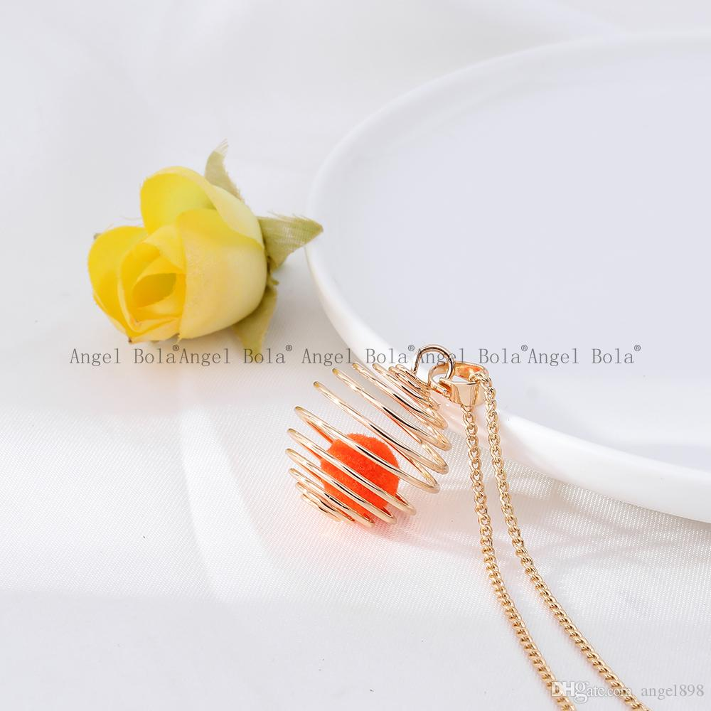 5Bee cages pearl cage Wholesale pendant locket cages Pendants DIY Pearl Necklace for women charm pendants