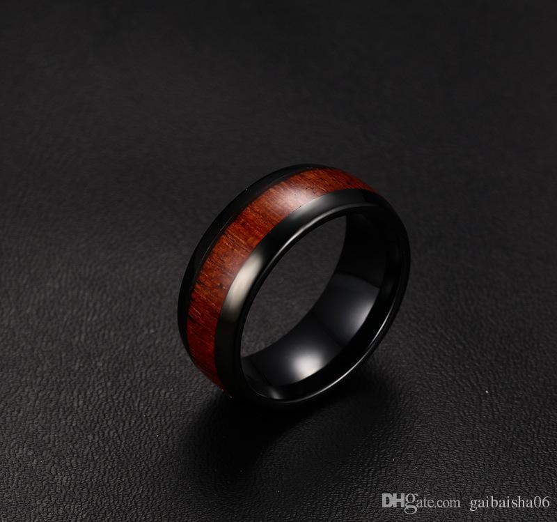 Meaeguet мода мужские обручальные кольца высочайшего качества вольфрамовые колесики карбида вольфрама взаимодействуют деревянный дизайн TCR-022