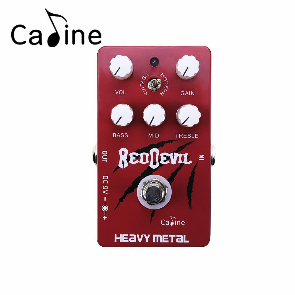 2019 Caline Cp 30 Heavy Metal Electric Guitar Effect Pedal With