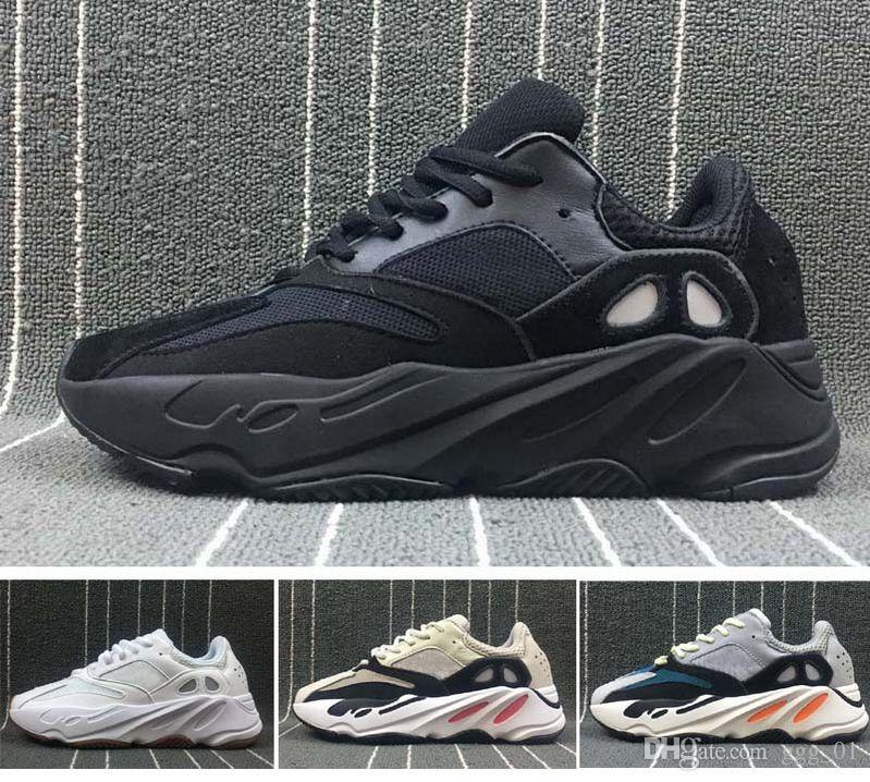 2018 newest Kanye West Runner 700 wave boost Sply White Core Black fashion Running sneaker sports shoes for men women size36-45 clearance recommend big discount sale online RDd6UEP0