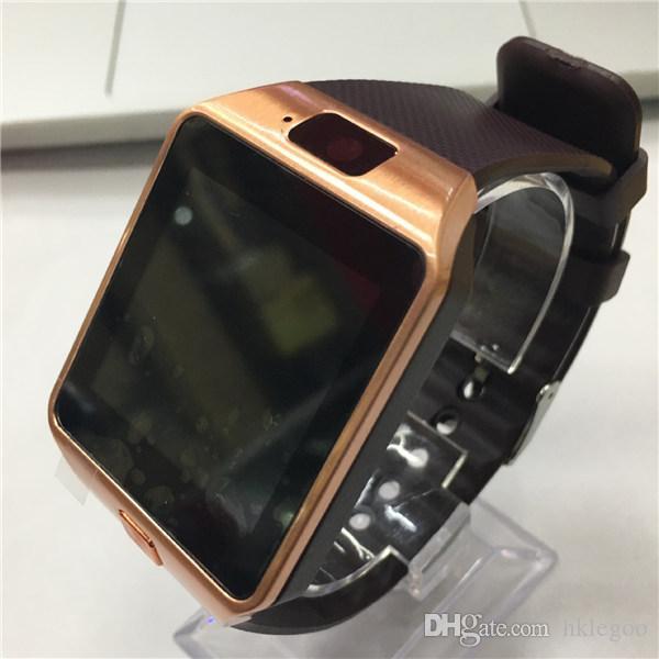 смарт-часы DZ09 Bluetooth Smart Watch с слот для SIM-карты для Apple Samsung IOS Android сотовый телефон 1.56 дюймов smartwatch pk gt08