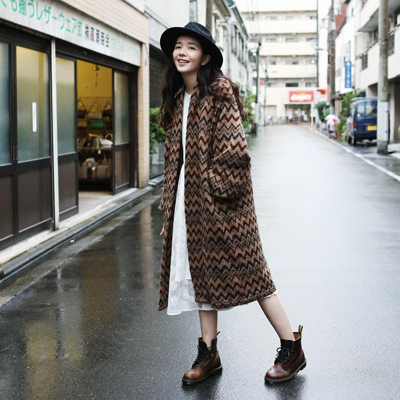 2018 Wholesale Quality Japan Style Autumn Winter Fashion Ladies Vintage Long Sweater Clothing Harajuku Women Bat Sleeve Loose Cardigan Outwear From Bida
