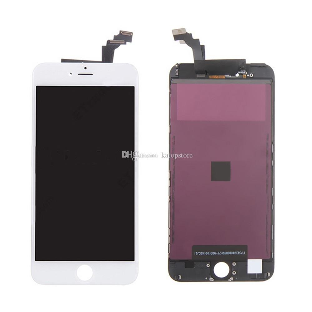 Top Quality grade mobile lcd spare parts lcd digitizer assembly for iphone 6 plus , for iphone 6 plus lcd 6 plus screen