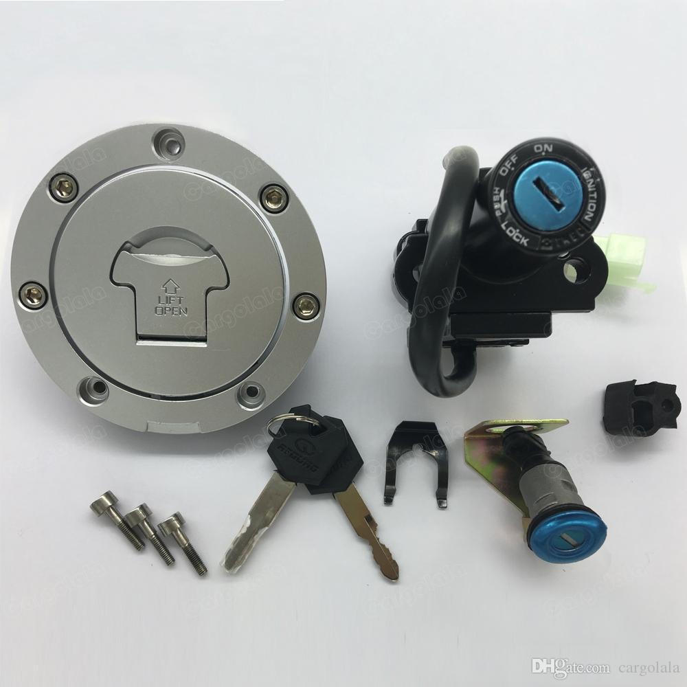 Motorcycle Ignition Switch Fuel Gas Cap Seat Lock Key Set For Honda Cbr600rr 2003 2006 Cbr900 954rr 2000 2003 Cbr1000rr 2004 2007