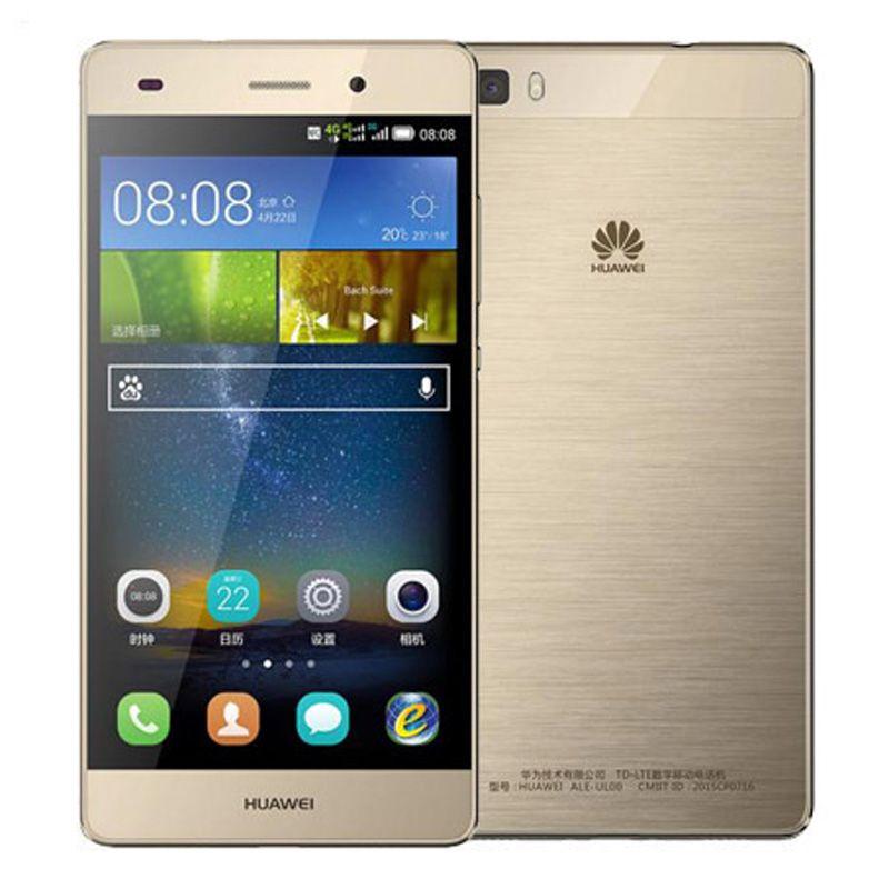 b4e72d96340c3 Oferta Moviles Original Restaurado Huawei P8 Lite 4G LTE 5.0 Pulgadas Kirin  620 Octa Core 2GB RAM 16GB ROM 13MP Dual SIM Android Teléfono Celular ...