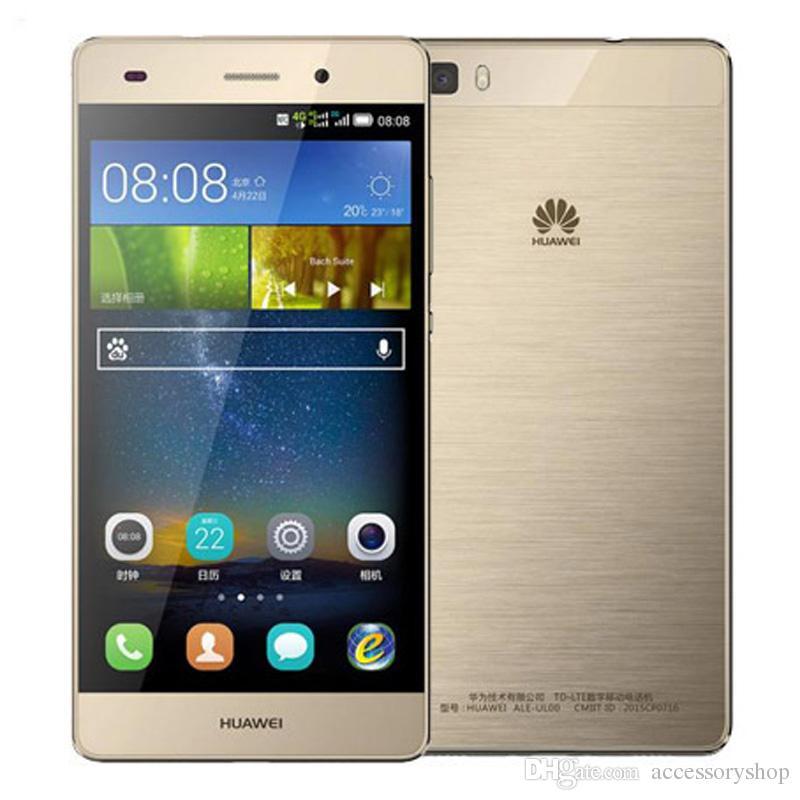 66a37deebf6f9 Compre Remodelado Original Huawei P8 Lite 4g Lte 5.0 Polegada Kirin 620  Octa Core 2 Gb Ram 16 Gb Rom 13mp Dual Sim Android Inteligente Telefone  Celular Dhl ...