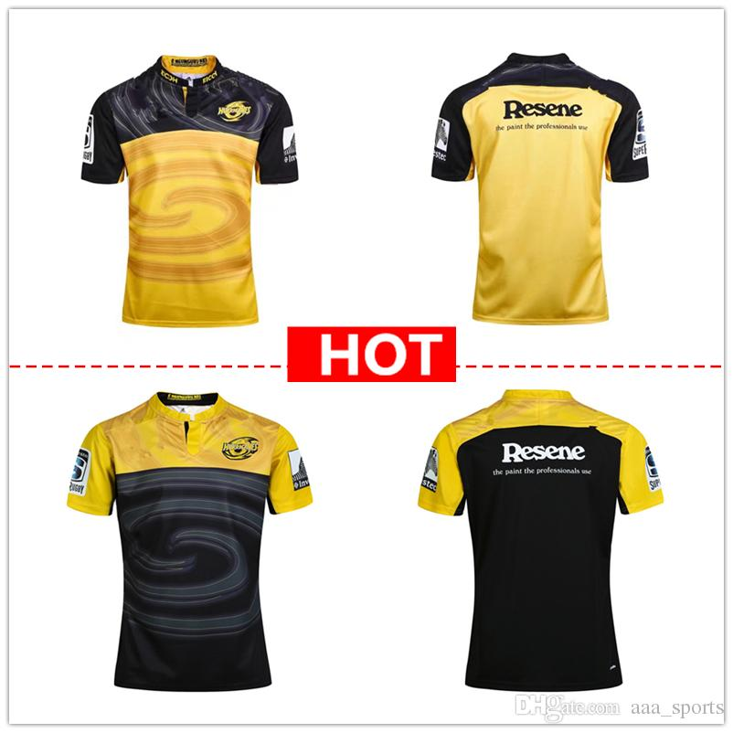 1669bb4102a 2019 Hot Sales 2017 2018 Rugby League Jersey New Zealand Super Rugby Union  Hurricanes Rugby Jerseys Shirts S 3XL From Aaa sports