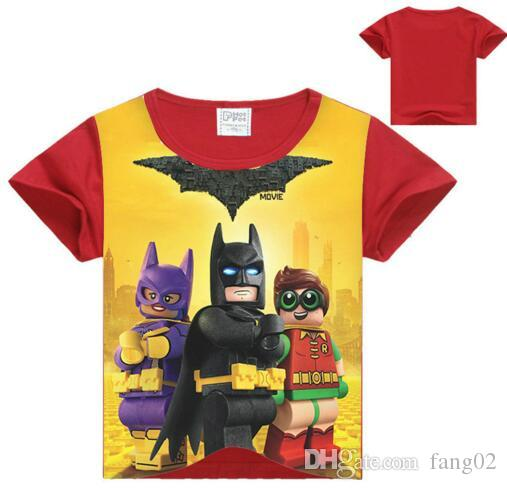 635cdb2e2 2017 Summer Boys T Shirts Batman Superman Children s Clothing Baby ...