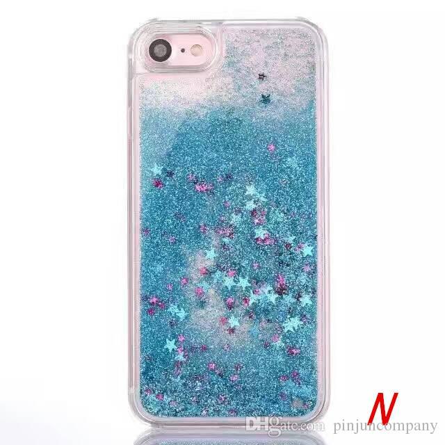Für lg v5 k10 2017 k20 plus m250n x400 v20 k3 2017 love star quicksand strass case glitter transparent flüssigkeit tpu abdeckung