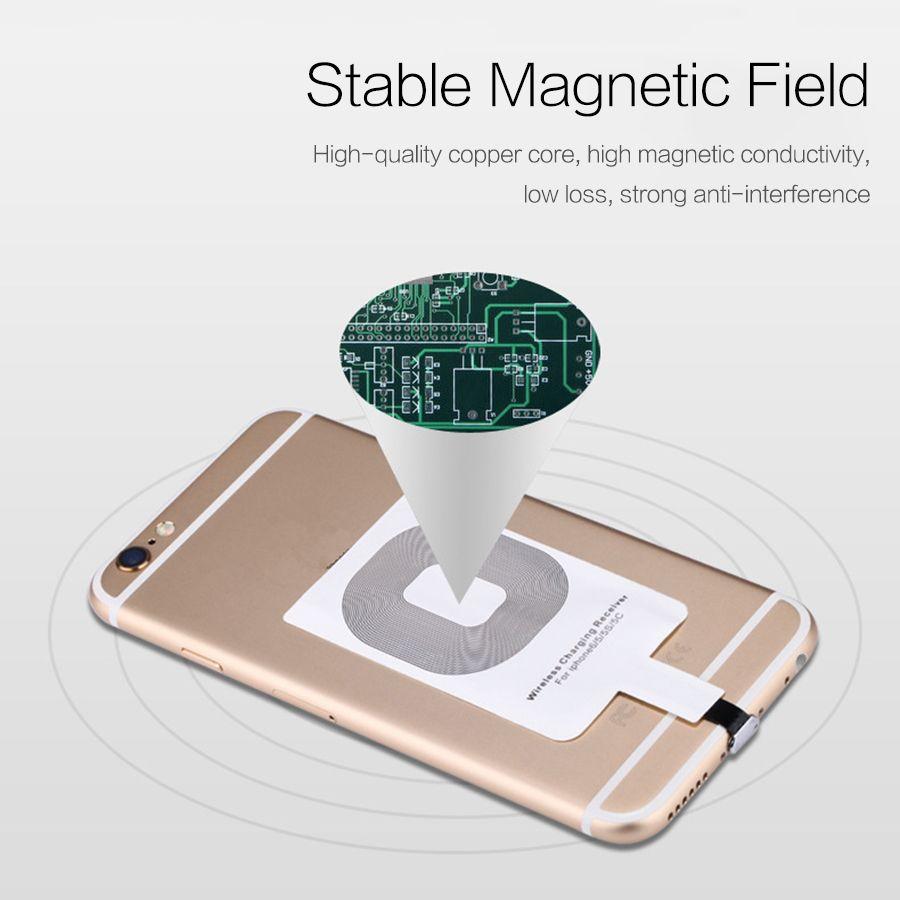 QI Wireless Charger Receiver Micro USB Charging Adapter Receptor 7 Xiaomi Huawei i8 i8 plus s8 s8 plus ix