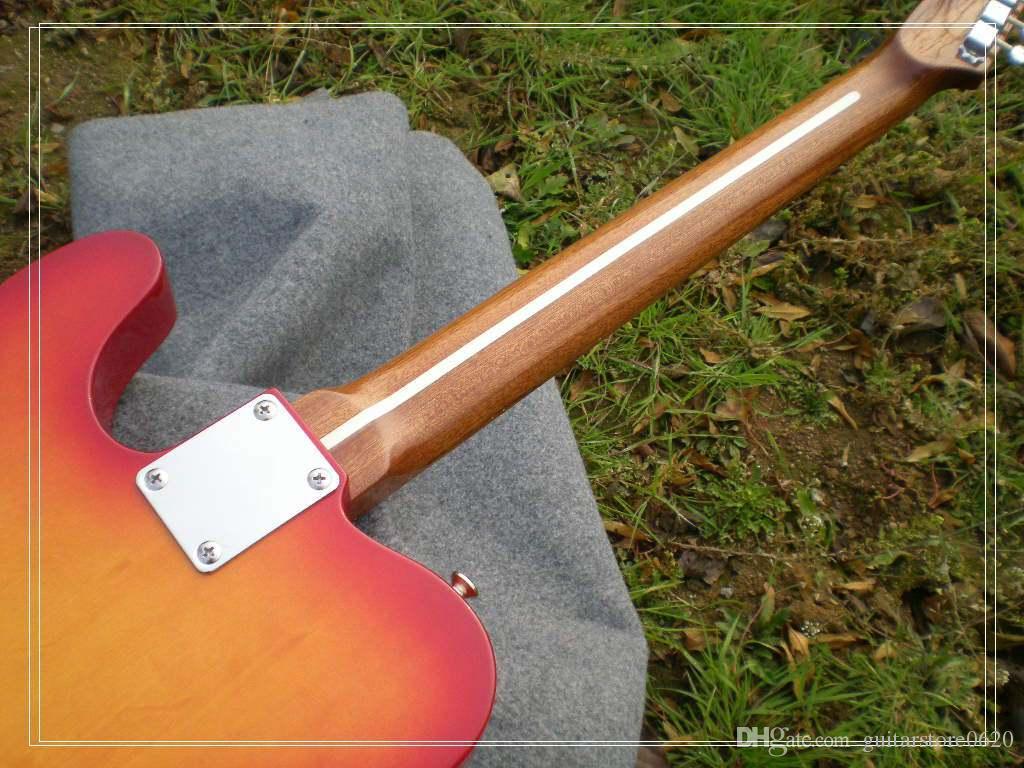 Guitarras atacado de alta qualidade Cherry Burst Guitarra elétrica rosewood fingerboard OEM de alta qualidade barato