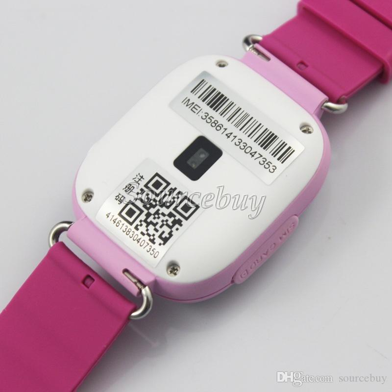 "Kids Children Xmas Gift Q90 Smart Kid GPS Watch SOS Call Locate Tracker Wifi 1.22"" Touch Screen SIM Slot Wristwatch Retail Box"