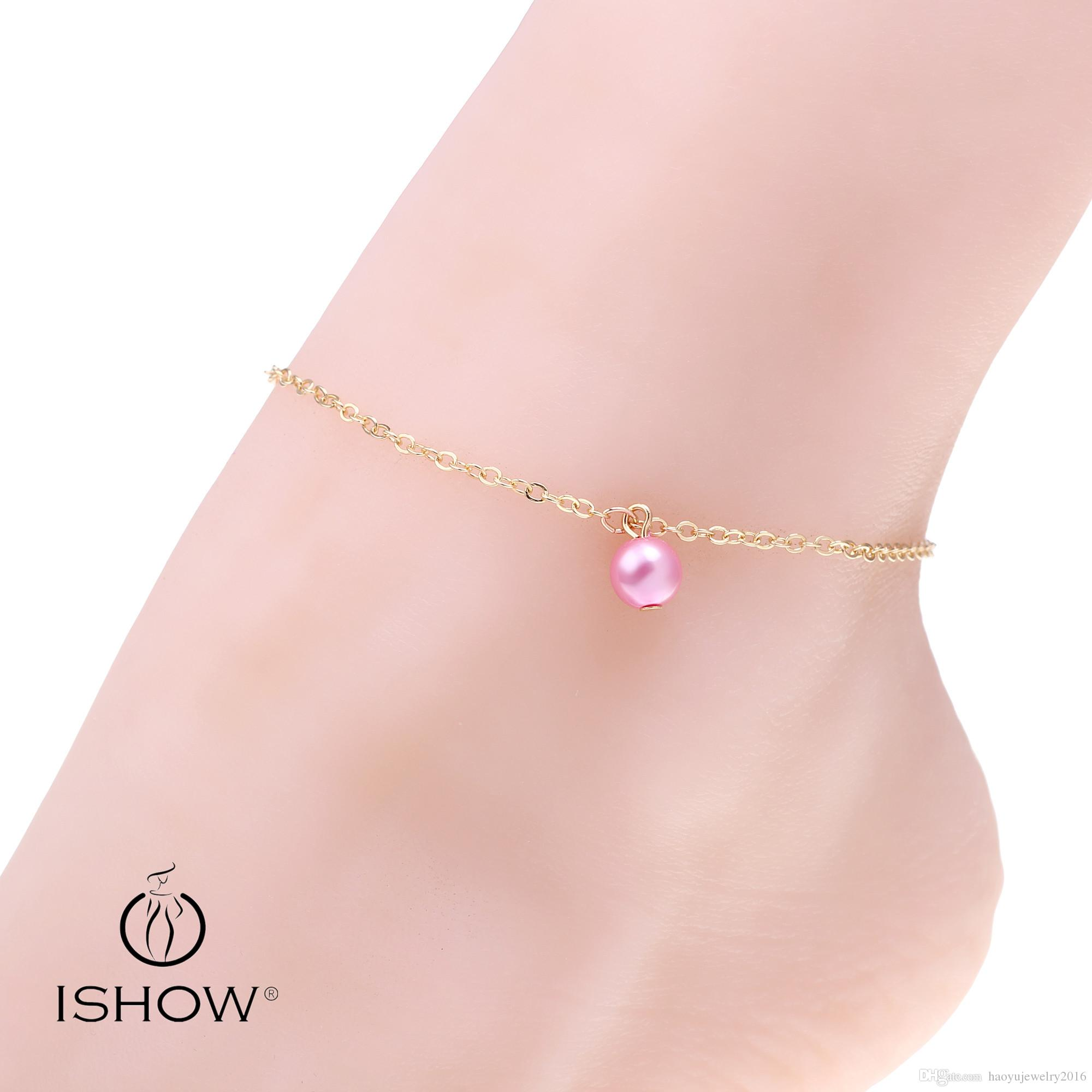 pure just women bracelets sale shop womens moon jewels bracelet yellow online for design anklet gold