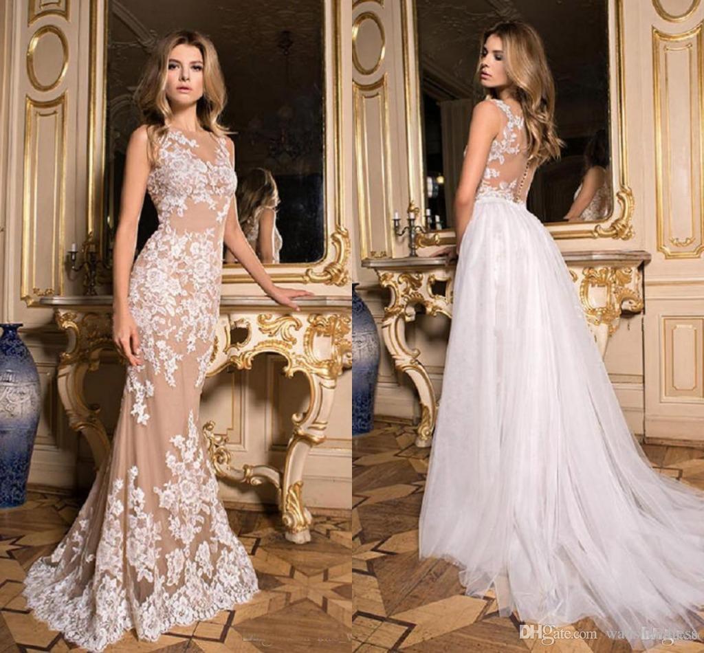 Vestido De Novia Falda Desmontable Vestidos De Fiesta
