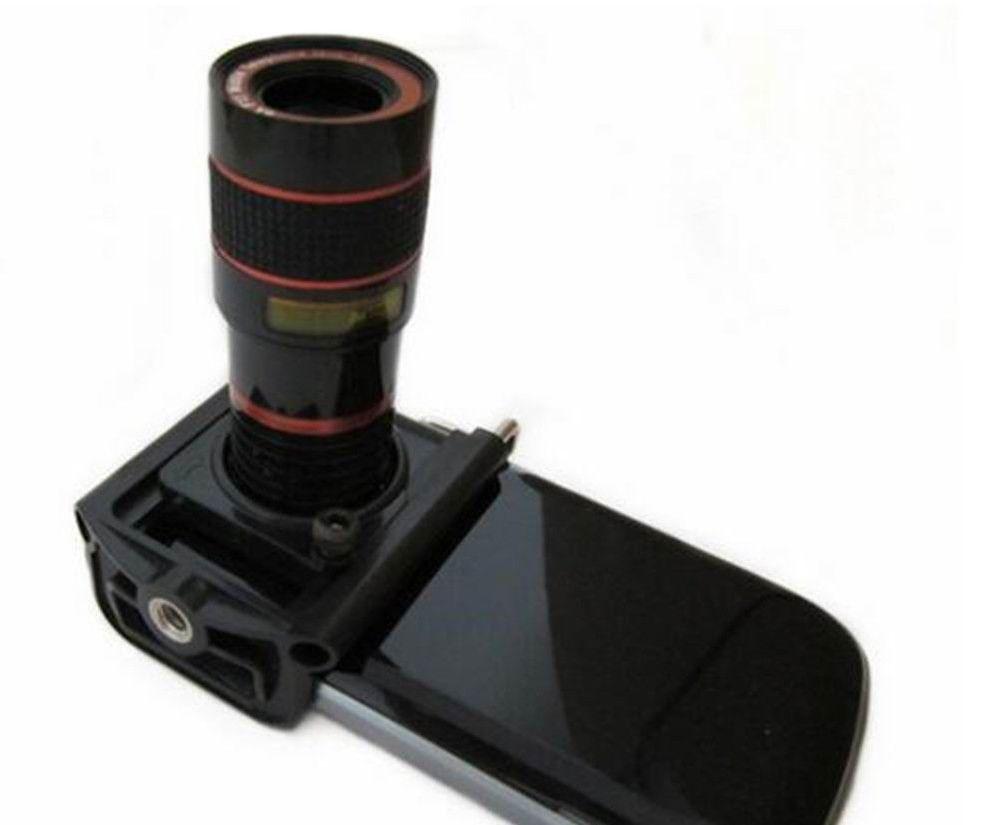 Kamera Lens Teleskop Çocuk Oyuncakları Kamera Lens Klip 8x Optik Zoom HD Teleskop Erkek Oyuncakları