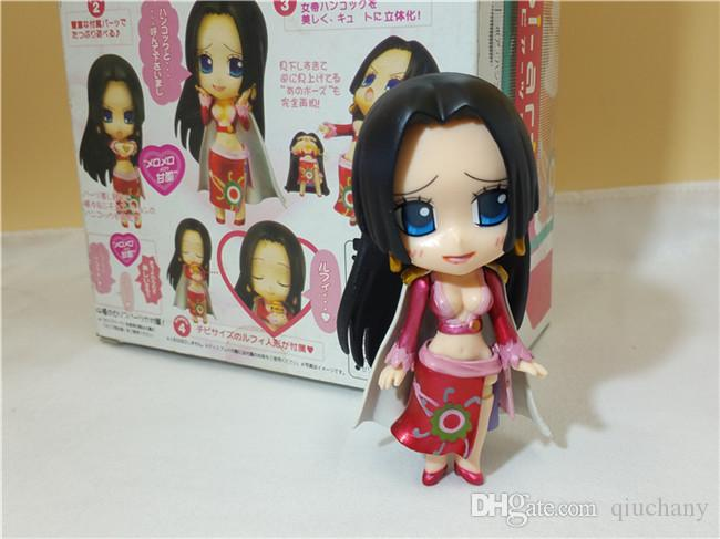 170613 QIUCHANY FUNKO POP 10cm Nendoroid One Piece Boa Hancock CHIBI-Arts DIY Action Figure Toys Anime Figure