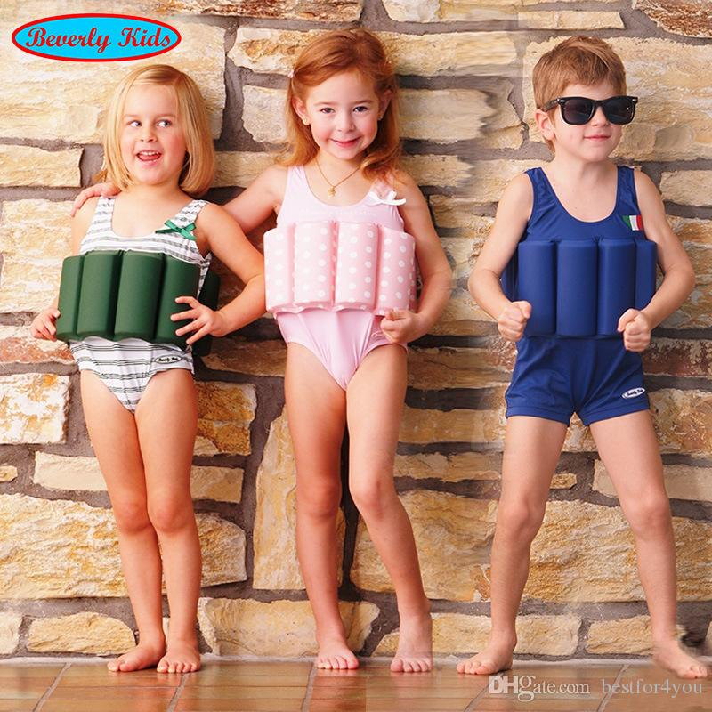 5178e56777e98 2019 Wholesale Children Boy Girl Swimsuits Buoyant Swimsuit Conjoined Swimsuit  Boy Baby Swimsuit One Pieces For Boy Swimwear From Bestfor4you, ...