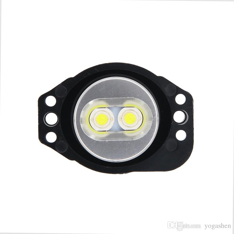 6 Вт 12 Вт LED Halo кольцо маркер глаза ангела свет Bridgelux чип 6500 К ксенон для BMW E90 E91 325i 328i 330i 335i стайлинга автомобилей