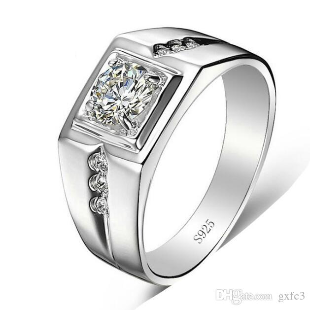 G3 Jewelry Fine Jewelry Men Ring 925 Sterling Silver Wedding Rings