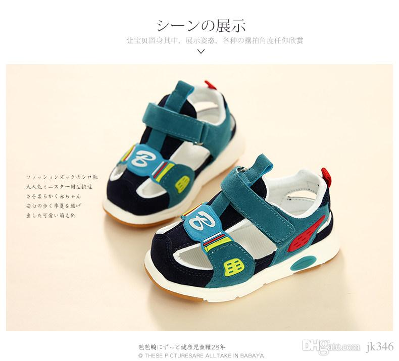 Jeff Store Kids Sandals Boys Summer cool fashion shoes