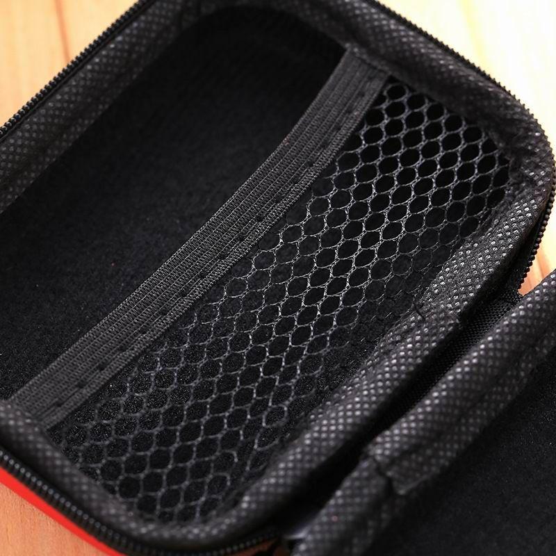 Acessórios do fone de ouvido Mini EVA Saco De Armazenamento Retângulo Cartão Chave Moeda Dinheiro Caixa Dura Organizador Digital Saco De Transporte USB Cabo Carregador Pequeno Caso