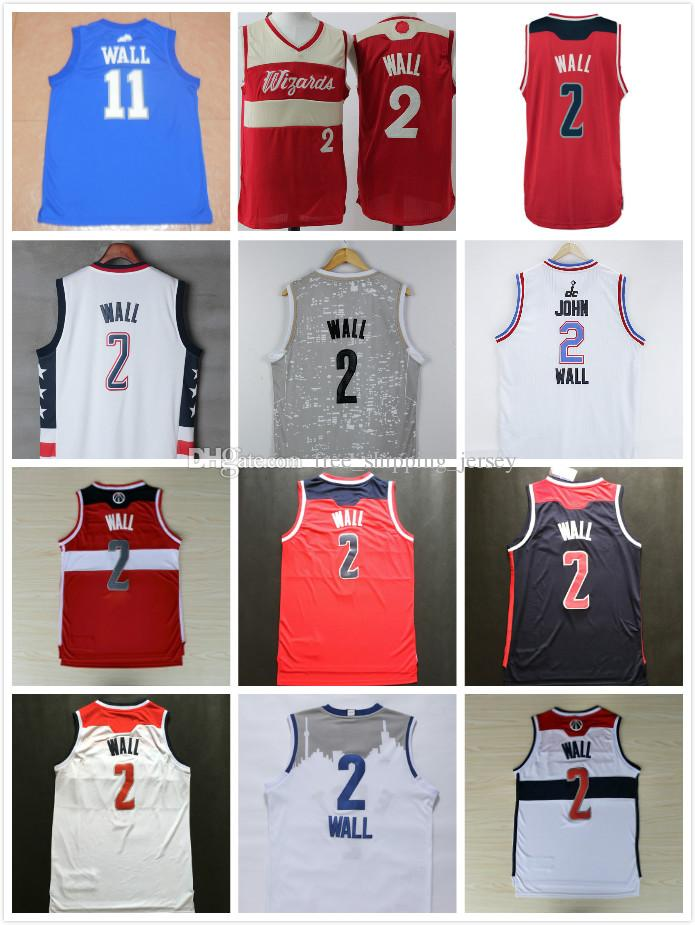 0385ef59a38 2019 2017   2 Wall Men Basketball Jerseys White Red Navy Blue Throwback  Mesh Embroidery Stitched Vintage Basketball Wear Uniform Wholesale From ...