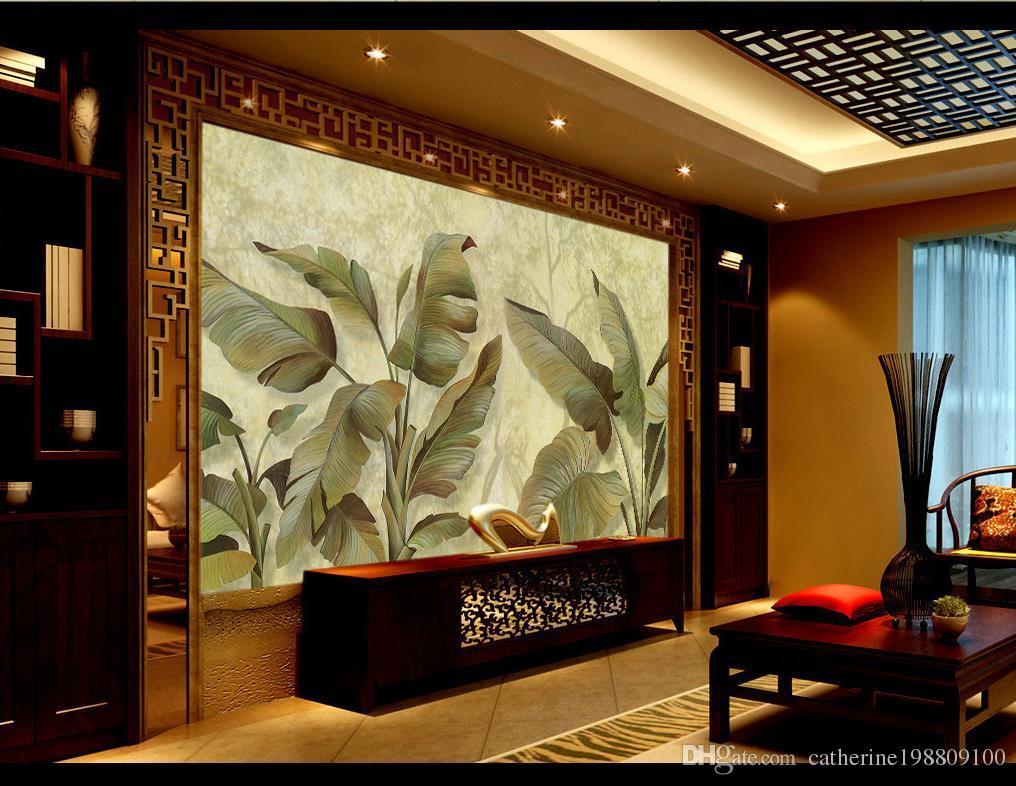 Großhandel Malerei Handgemalte Wand Tv Wand Dekoration Malerei Wandbild 3d  Wallpaper 3d Tapeten Für Tv Hintergrund Von Catherine198809100, $16.59 Auf  De.