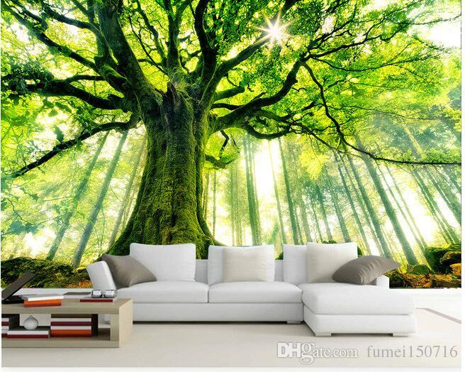 3d wallpaper custom mural non woven wall stickers tree forest3d wallpaper custom mural non woven wall stickers tree forest setting wall is sunshine paintings photo 3d wall mural wallpaper cellphone wallpaper cellphone