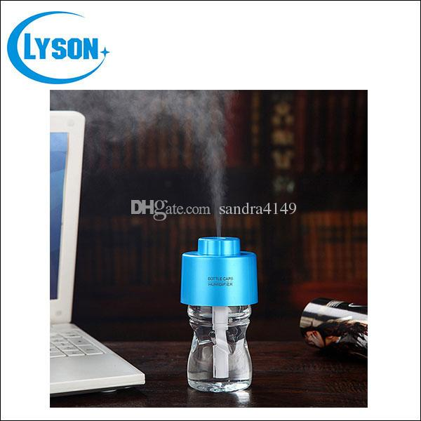Desktop Bottle Cap USB Mini Humidifier DC 5V Office Cool Mist Diffuser Mist Maker Include Water Bottle
