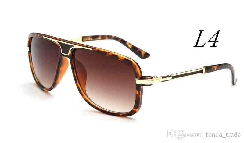 جديد الرجال النساء وجه النظارات الشمسية 9239 أزياء كبير معدن إطار نظارات uv400 الرجال النظارات أعلى جودة a + + موك = 10
