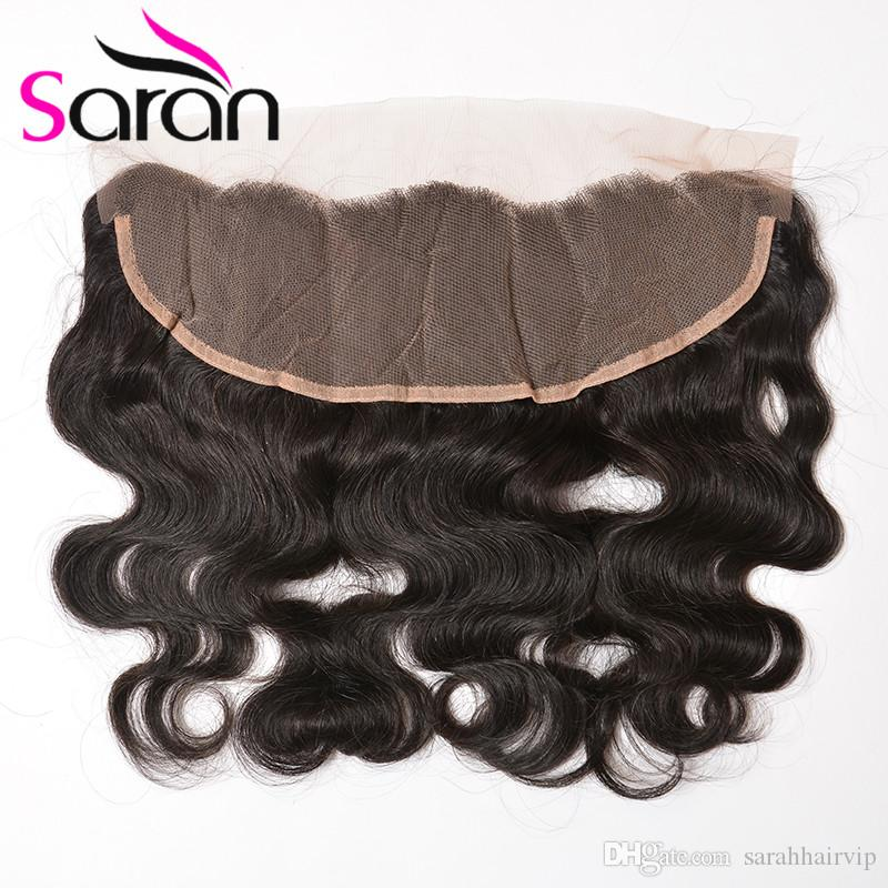 13X4 Lace Frontal Closure 7A Brazilian Indian Filipino Body Wave Full Lace Frontals With Baby Hair Filipino Virgin Human Hair Lace Closure