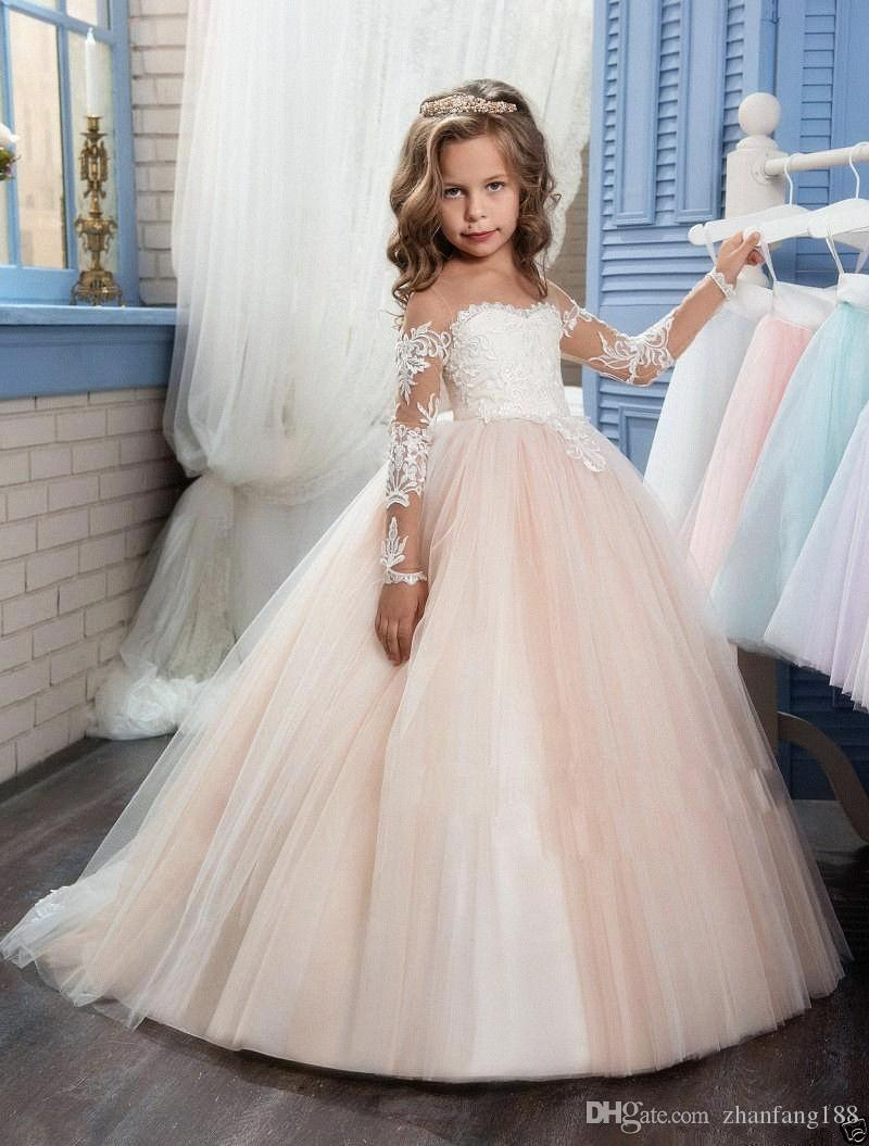 fa98438ddc6e 2019 NEW Halloween Easter Birthday Party Flower Girl Dress Bridesmaid  Wedding Communion Pageant Party Graduation Dress Toddlers Dresses Wedding  Dress For ...