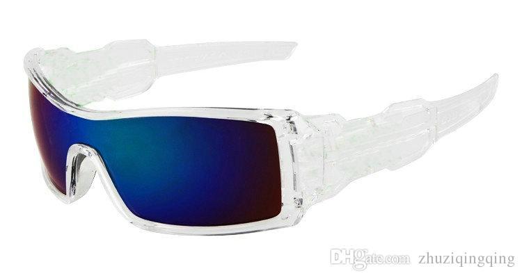 Alta Qualidade Ao Ar Livre Esportes Óculos de Sol Óculos de Sol Dazzle cor Siamês Lentes De Resina Designers Óculos De Sol Baixo Preço
