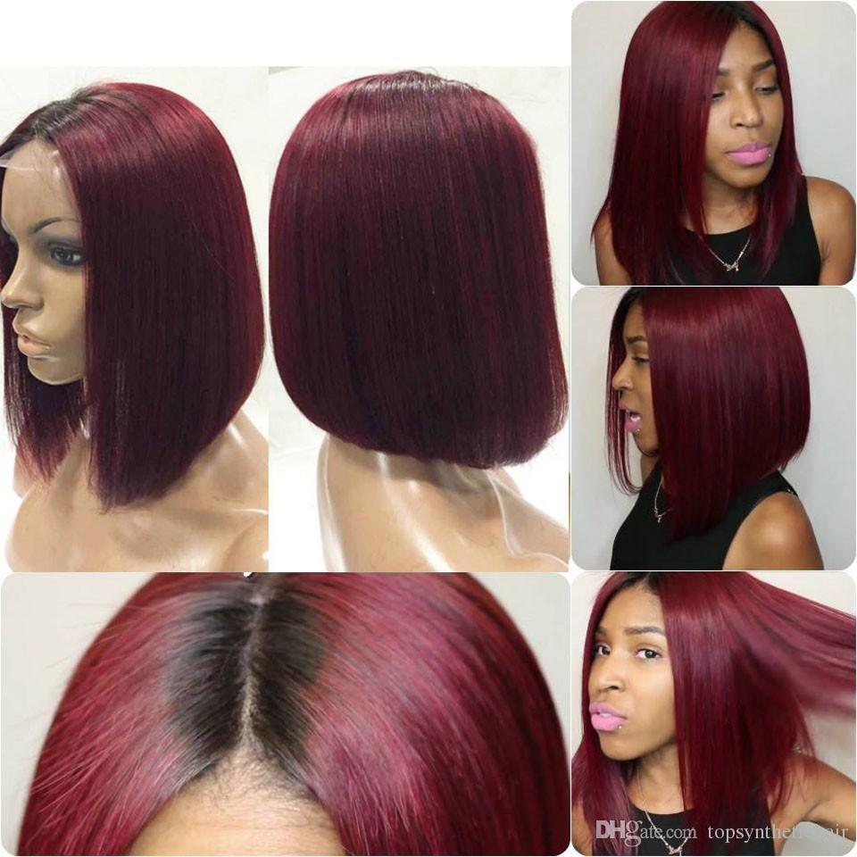 Haare rot kurze ombre Ombre Braun