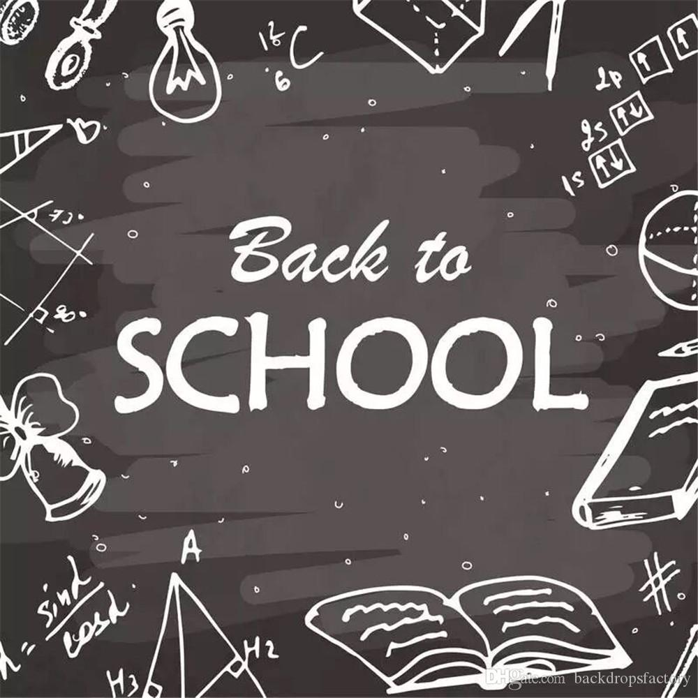 2018 back to school themed vinyl backdrops for photography digital