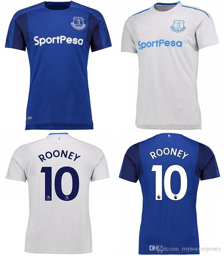 7c5e8ff4b41 2019 2017 2018 Everton Soccer Jersey Top Quality 17 18 Everton Football  Jerseys ROONEY WALCOTT MIRALLAS LENNON BARKLEY Football Shirts From  Roysoccerjersey