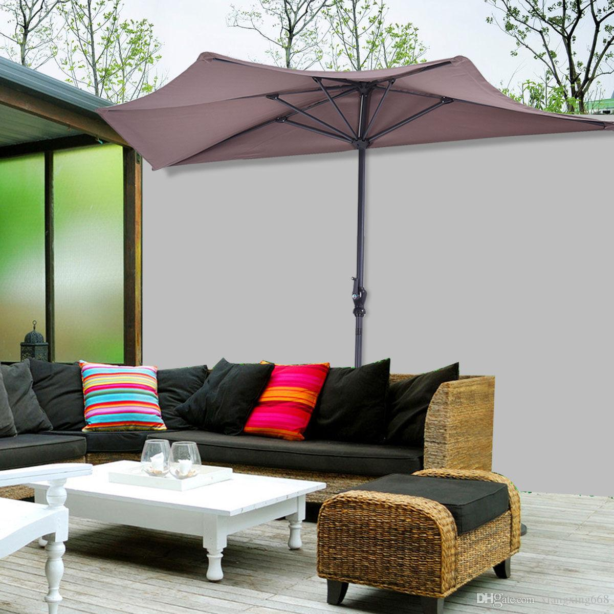 patio popular half exterior pictures umbrella wall off umbrellas decorating the of