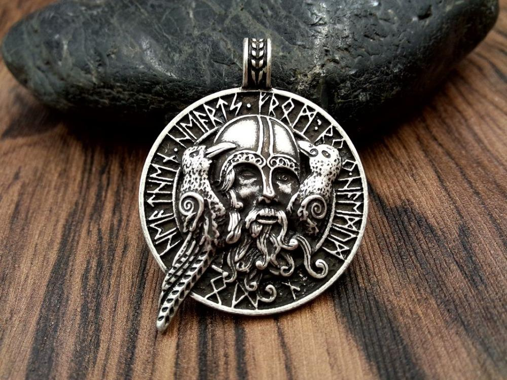 2018 wholesale fashion necklace jewelry odin with ravens viking 2018 wholesale fashion necklace jewelry odin with ravens viking pendant viking amulet raven pendant norse jewelry odin pendant from comee 3522 dhgate aloadofball Image collections