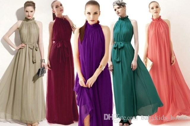 Vestidos Formal Maternity Dresses Elegant Bohemian Beach Summer Dress Ultra Perfect Fairy Sexy Maxi Chiffon Evening Dresses