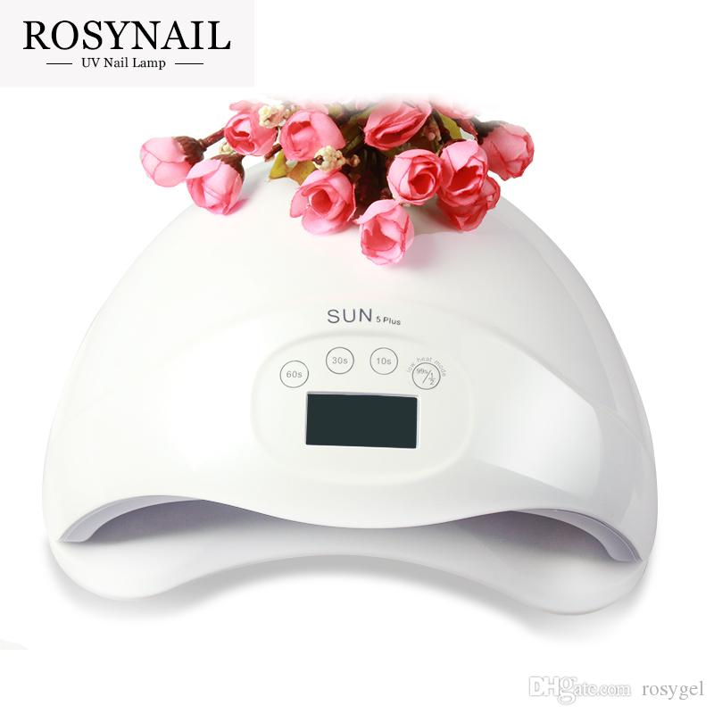 Wholesale 48W UV LED Lamp Nail Dryer SUN5 Nail Lamp With LCD Display Auto Sensor Manicure Machine for Curing UV Gel Polish