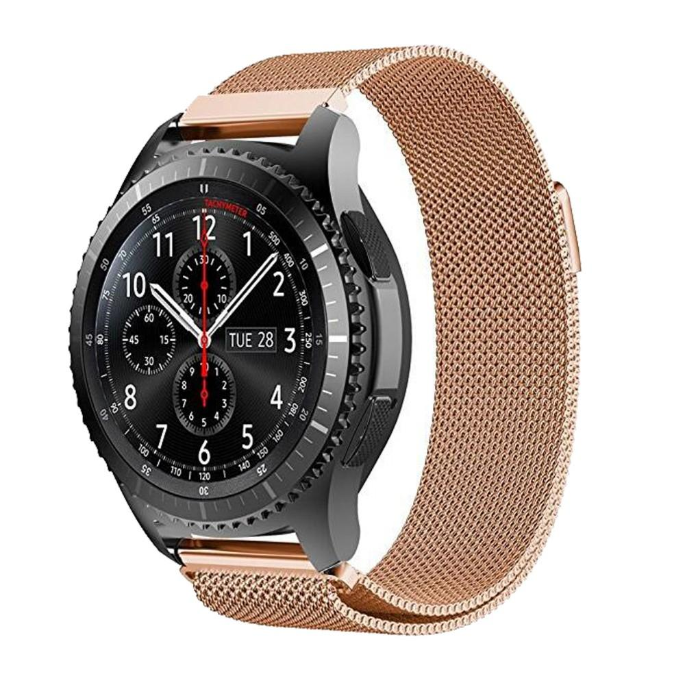 Milanese Loop Watchband For Samsung Gear S3 Classic Strap For Gear S3 Frontier Stainless Steel Band w Magnetic Closure