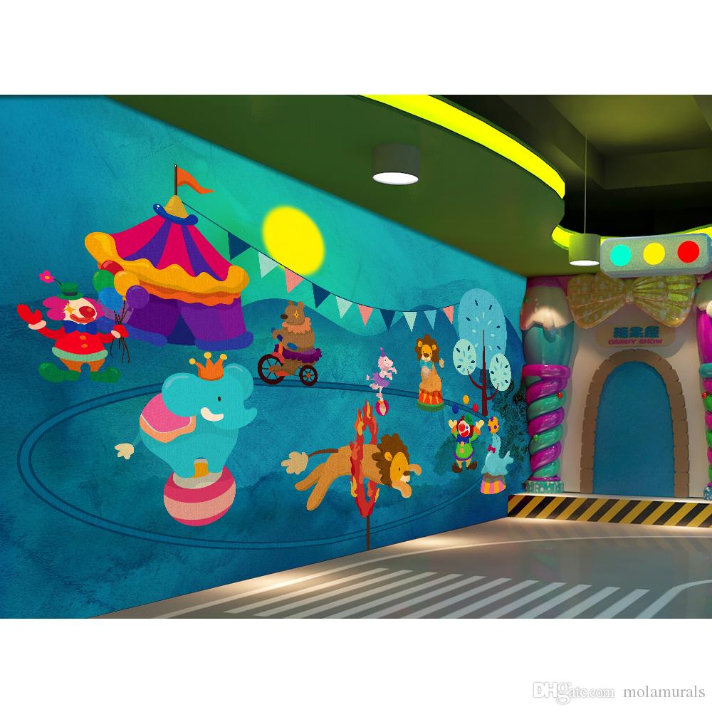 Custom photo wallpaper 3d wall mural for wall for for Child mural wallpaper