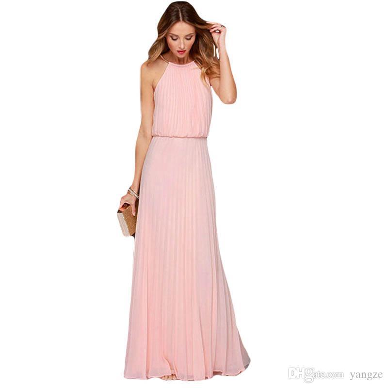 Großhandel 2017 Reizvolles Frauen Beiläufiges Kleid Mit Halter ...