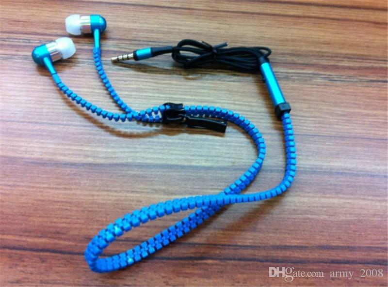 Высокое качество молния гарнитуры 3,5 мм в ухе универсальный металлический наушник молния наушники с дистанционным микрофоном для телефона ПК MP3 MP4