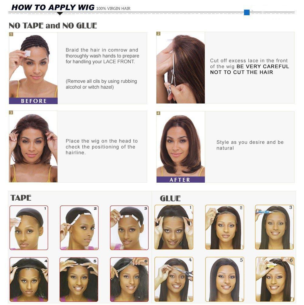 Bob Lace Front Wigs With Big Bangs short bob wig For Black Women Full Lace Wigs 100% Natural Human Hair with baby hair