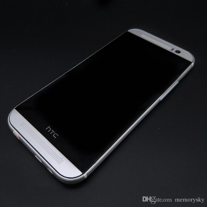 Refurbished Cell Phones HTC One M8 4g lte Unlocked Cell phone 5.0 inch 2GB RAM 16GB/32GB ROM WIFI GPS Android Phone