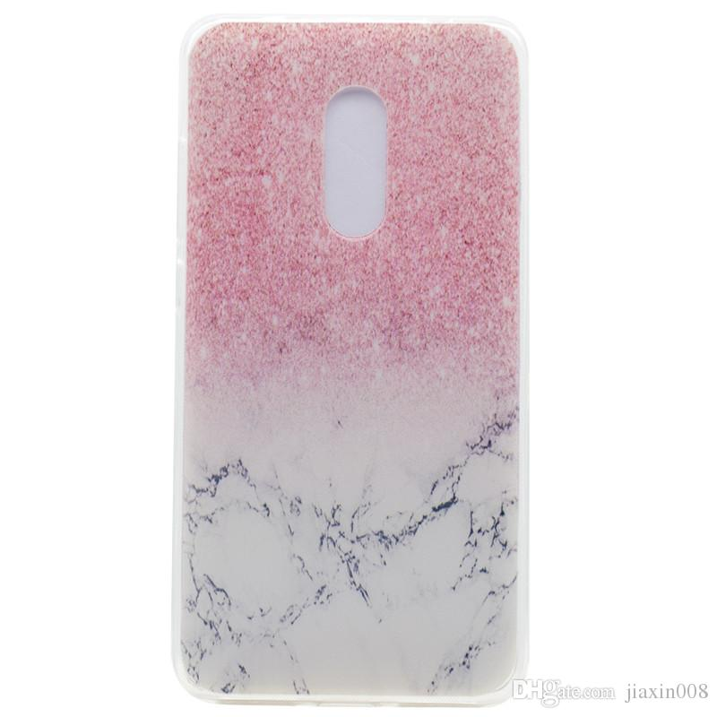 Transparent TPU Cover For Lenovo K6 Note Case Fashion colour decoration Tower bike Butterfly Girl Feather Design Phone Case