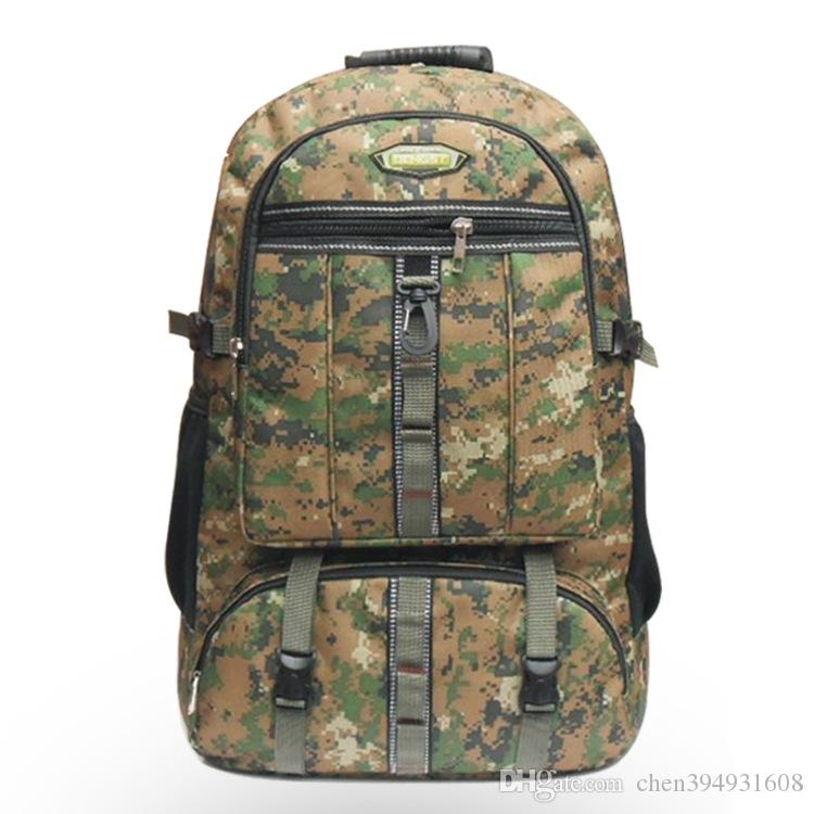 3abff82452 2019 2016 Fashion Large Capacity Backpack Men And Women Camouflage Outdoor  Travel Bag Mountaineering Backpack From Chen394931608