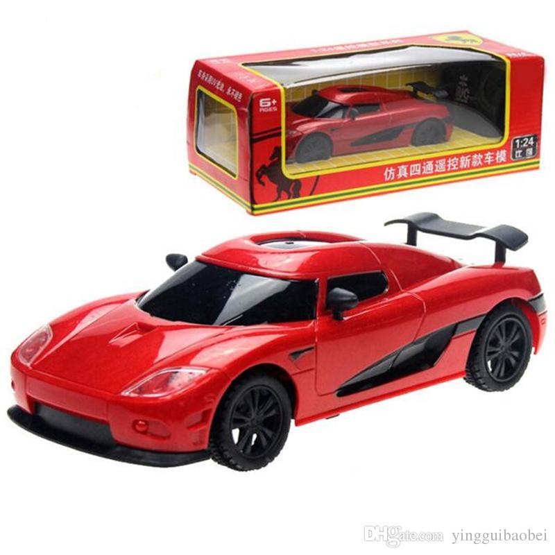 rc car 124 remote control toys model rc car electric kid toy children radio controller no original box birthday gift best rc car gas powered rc car from