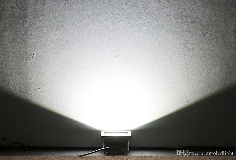 10W 20w 30w 50W 70w 100w 150W 200W 300w 400w 400w LED punto de luz de inundación lámpara de proyección de luz Signos lámpara Reflector exterior impermeable